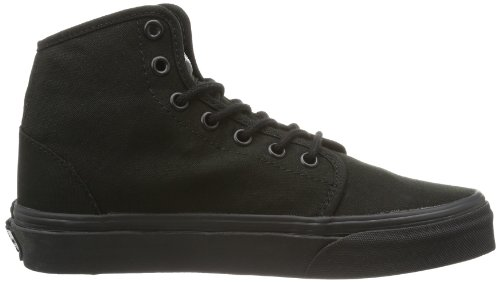 Vans Unisex Schoenen 106 Hi Canvas Skate Sneakers Zwart / Zwart