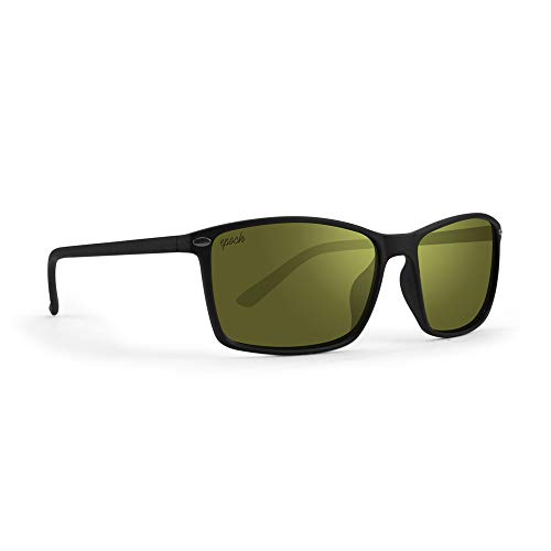 Epoch 11 Black Polycarbonate Frame with High Clarity Green Lens