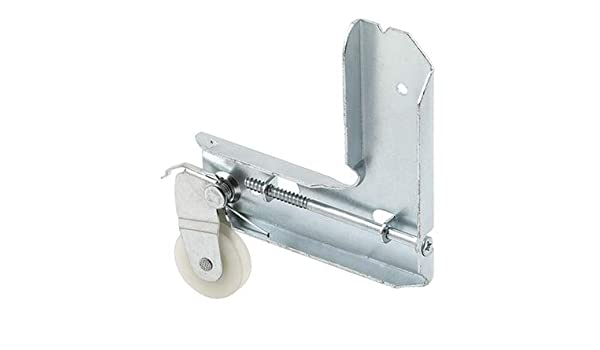 Stamped Galvanized Steel Sliding Screen Door Corner Roller Assembly 1 Nylon Roller for Metal Industries