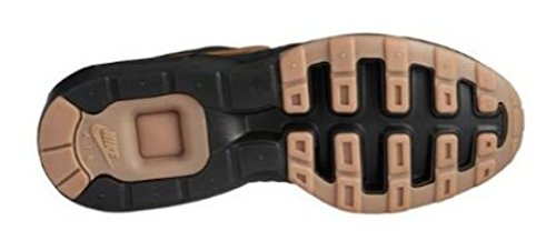 Nike Air Max Prime Chaussure De Course Noir / Métallique Gold-gum Med Marron