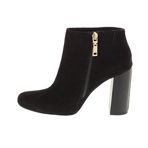 4B S1285HU Tommy Boots Suede Hilfiger Black Womens n8P8x1vwEq