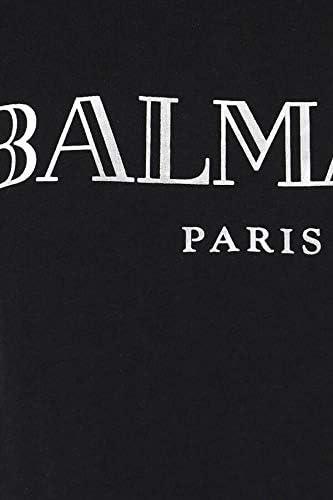 Balmain Luxury Fashion Donna TF11350I366EAC Nero Cotone T-Shirt | Primavera-Estate 20