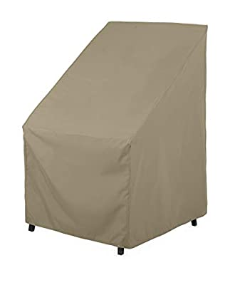 SunPatio Outdoor Chair Cover, Lightweight, Water Resistant, Helpful Air Vent, All Weather Protection