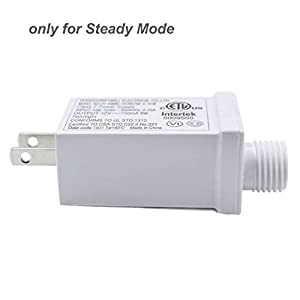 12V9W LED Power Supply Class 2 Led Power Supply – Autbye Steady on Mode US Led Light Plug Adapter Waterproof Low Voltage LED Driver Replacement Parts (1 Pack)
