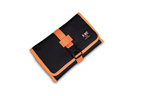 BUBM Roll-Up electronics organizer, travel carry case, Hangi