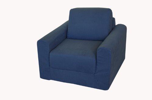 Fold Out Sleeper (Fun Furnishings Chair Sleeper,  Denim)