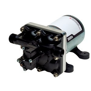 Ultra Quiet Shurflo Motorhome Water Pump 3 GPM 55 PSI RV Demand Pump (Replaces Shurflo Model 2088-422-444) by GEN