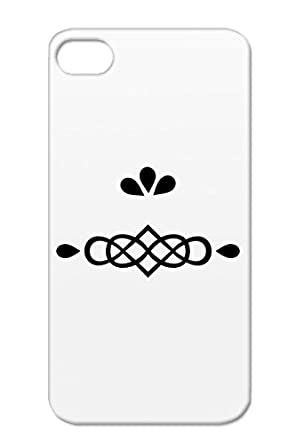 Swirl Symbols Infinity Ornament Leaves Shapes Drops Black Case Cover