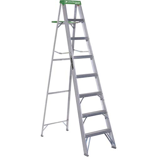 Louisville 8' Step Ladder - 7 Step - 225 lb Load Capacity96