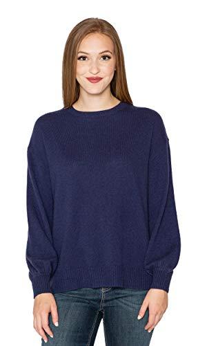 - Velvet by Graham & Spencer Selina Cashmere Puff Sleeve Sweater (S)