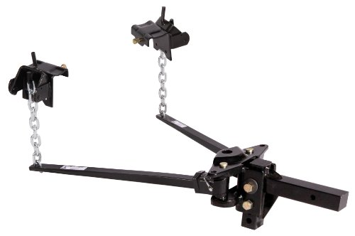 Husky 31335 Pin Trunnion Bar Weight Distribution Hitch - (801 lb. to 1200 lb. Tongue Weight Capacity)
