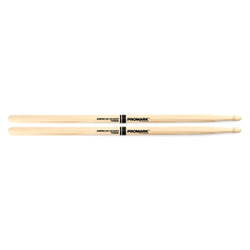 Promark TX5BW American Hickory Wood Tip, Single Pair (Promark American Hickory Rock)