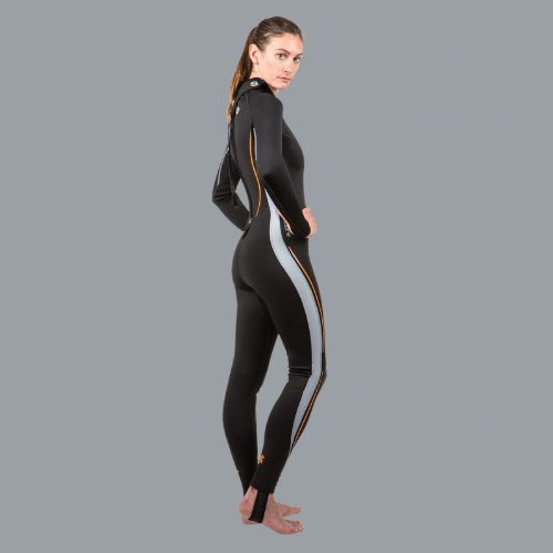 New Women's LavaCore BackZip Trilaminate Polytherm Full Jumpsuit for Extreme Watersports (Size Large) by Lavacore