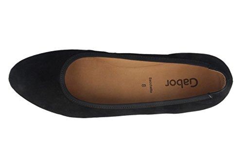 GABOR escarpins femme-noir chaussures en matelas grande taille