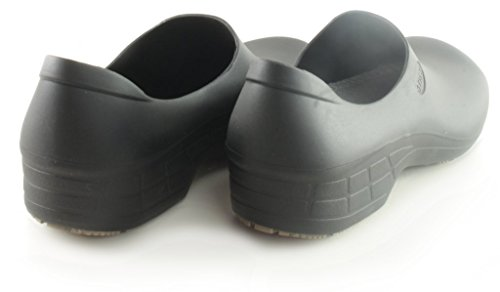 Comfortable Work Women Black Shoes Resistant for StickyPRO Waterproof Slip Shoes 77qrxAdnwP