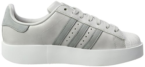 WoMen adidas Grey Grey Off White Superstar Sneakers Top Lgh Bold Solid Ftwr W White S14 Low Mid SW4nqdW