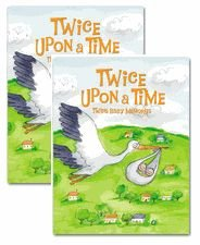 2 Pack - Twice Upon A Time: Twins Memory Books by Just Mutiples