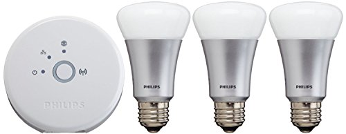 046677426354 - Philips Hue White and Color Starter Kit (Old Model, 1st Generation), 3 Bulbs and a Bridge, Works with Amazon Alexa carousel main 3