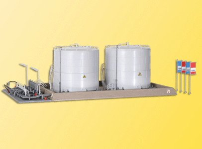 (HO Scale Twin Fuel Storage Tank )