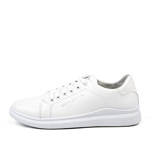 Para Lovdram White Zapatos Nuevos Inferiores Gruesos Pequeños Blancos Moda Otoño De Casuales Hombres Hombre Y Deportivos gzxdZTgqn