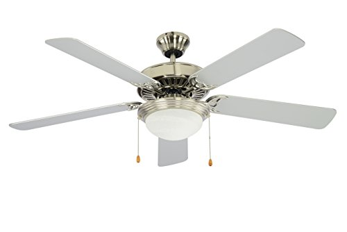 Trans Globe Lighting F-1004 BN Indoor Westwood Ceiling Fan, Brushed Nickel by Trans Globe Lighting