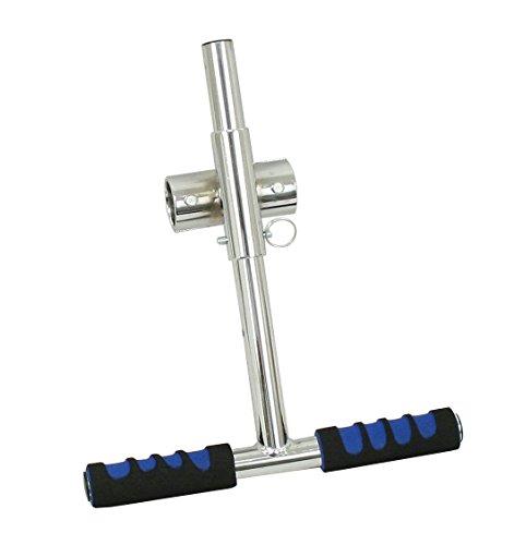 EMPI 16-7000 Adjustable Steel Chrome Grab Handle, VW BUG, BAJA, SAND RAIL, DUNE BUGGY
