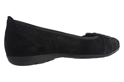 7416757 Black Ballet Women's Gabor Flats z5wqU6