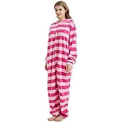 IBAX® Pijama/Mameluco de Gato para niños y Adultos. (Gato de Cheshire, Grande (L))