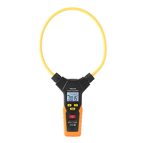 Flexible Clamp Meter - PEAKMETER PM2019A/PM2019S Handheld Digital Flexible Clamp Meter 3000A AC Current Multimeter(PM2019A)