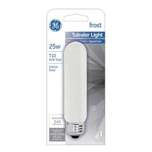 GE Watt Frost Tubular Bulb