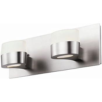 Dvi Dvp6822ch 2 Light Europa Bathroom Bar Light