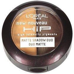 L'Oreal Paris HiP high intensity pigments Matte Eye Shadow Duos, Poppy, 0.08 Ounces