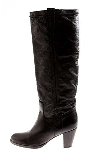 Black Cowboylook Ladies Boat Tamaris Boots Shoes Winter Hn0YZ