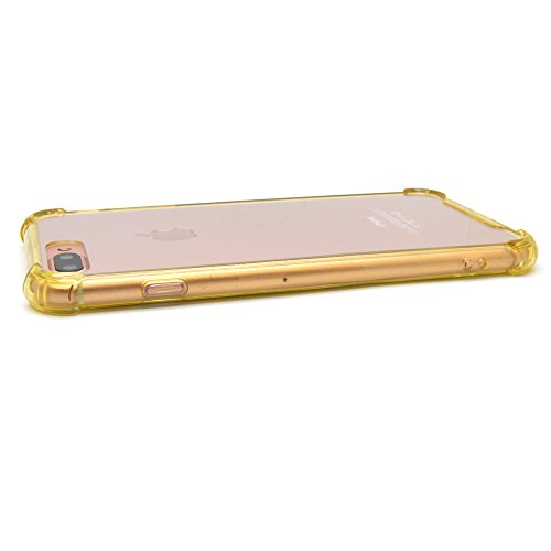 iProtect Apple iPhone 7, iPhone 8 Plus TPU Shockproof Outdoor Case Schutzhülle in gold