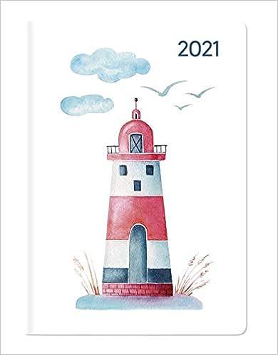 Faro Formato Tascabile 8x11,5 cm Agenda Settimanale Ladytimer Mini 2021 144 Pagine Alpha Edition