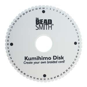 Kumihimo using strings Threads Beaded