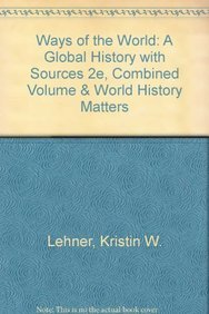 Download Ways Of The World A Global History With Sources 2e