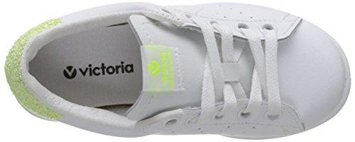 Victoria Women's Deportivo Piel Low-Top Sneakers, Black, 7 Yellow (Lima 58)