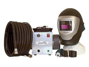 Breathe-Cool II Supplied air respirator w/auto darkening welding helmet by Breathe-Cool