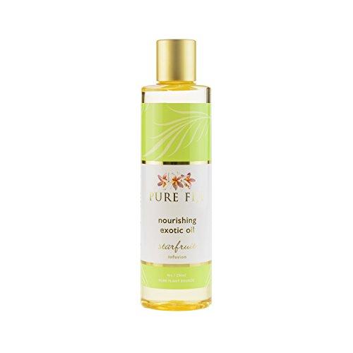 (Pure Fiji Exotic Bath & Body Massage Oil-Starfruit 8 oz.)