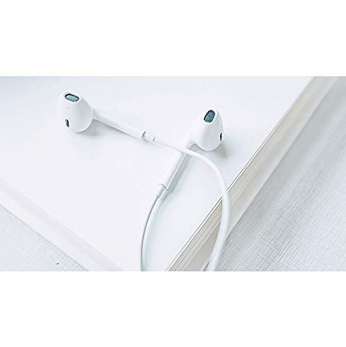 ChefzBest, 2-Pack Premium 3.5 mm Earphones/Earbuds/Headphones Stereo Mic&Remote Control Compatible iPhone iPad iPod Samsung Galaxy and More Android Smartphones - White by ChefzBest (Image #2)