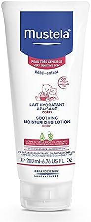 Hidratante e Calmante sem Fragrância para Pele Muito Sensível/Sensibilizada dos Bebês e Crianças, Mustela Bebê