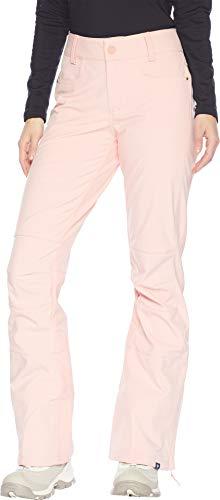 - Roxy Women's Creek 15K Snow Pants Coral Cloud X-Small