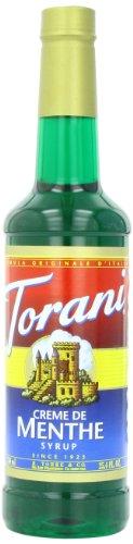 Torani Syrup, Crème de Menthe, 25.4 Ounce (Pack of 4) Torani Creme