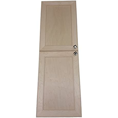 Wood Cabinets Direct 56 Inch High Maxwell On The Wall Frameless 28 Pantry Medicine Cabinet 3 5D