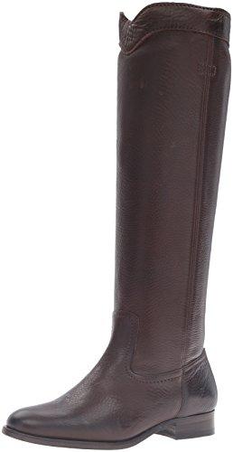 Chocolate Roper - FRYE Women's Cara Roper Tall Riding Boot, Chocolate, 7 M US