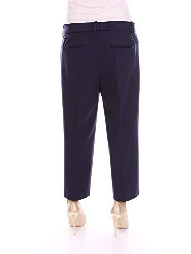Mujer Poliéster Azul Pantalón Dp030js190dvszablue Dondup qASxgwY4d