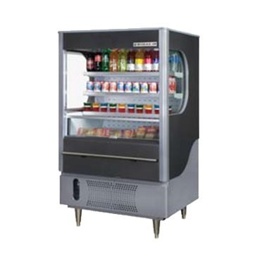 Beverage Air VM7-1-W Vuemax Series Open-Air Merchandiser