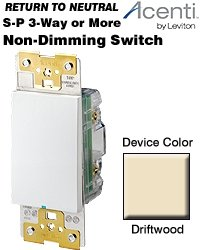 ACS15-1LD Leviton Acenti Digital 3-Way or More ()