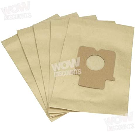 5 x C-20E Vacuum Bags for Panasonic MC-E89 MC-E899 MC-E9000 Hoover UK